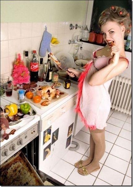 キッチンでセクシー (10)