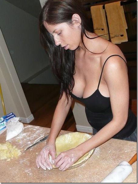 キッチンでセクシー (22)