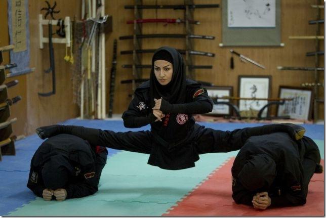 iran_ninja_kunoichi イランのくノ一忍者は武神館道場の本物らしい 画像15枚