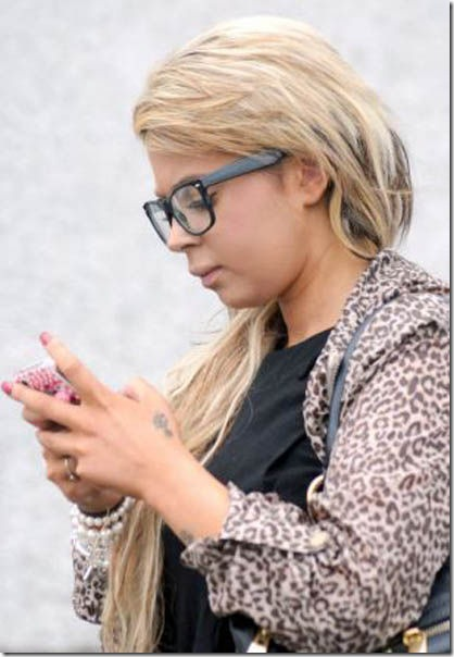 Rachael Claire Martin, of Tremayne Road, St Austell leaves Truro Crown Court where she was accused of stealing Ј46,000 from a branch of Barclays Bank at Liskeard in Cornwall. See SWNS story SWSTEAL: An aspiring model has admitted stealing thousands of pounds from the bank where she worked – to spend the money on a boob job, dental work and lipo-suction. Rachael Claire Martin, 24, pleaded guilty to stealing Ј46,000 over an eight-week period from Barclays Bank where she was employed as a clerk. It is understood the mother-of-one splashed out Ј4,000 going under the surgeon's knife for her breast surgery and Ј1,700 on expensive dental work including treatment to whiten her teeth as well as lipo-suction and hair extensions.