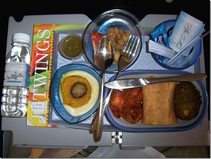 世界の機内食比較 (8)