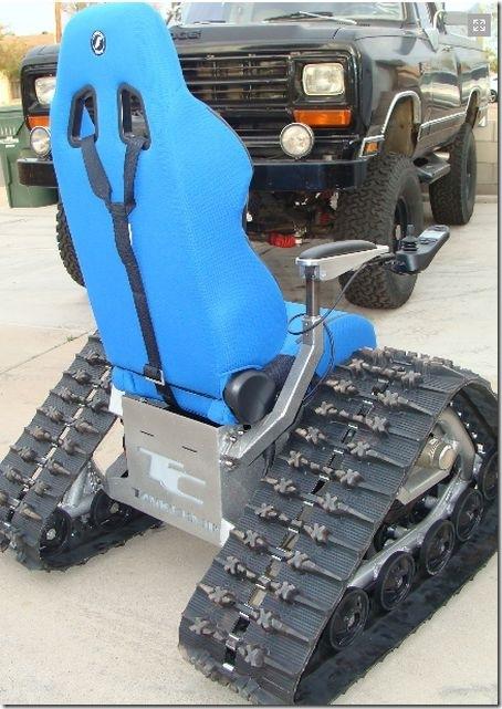 戦車型車椅子 (2)