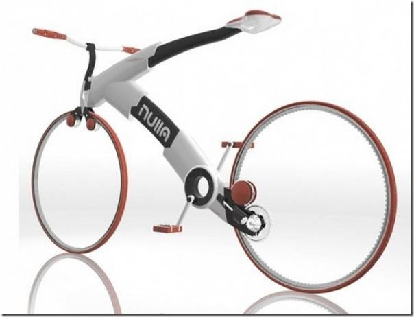 未来的デザインの自転車 (9)